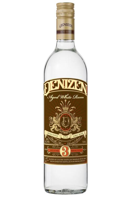 Denizen Aged White Rum 3 Year