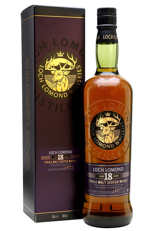 Loch Lomond 18 Year Scotch