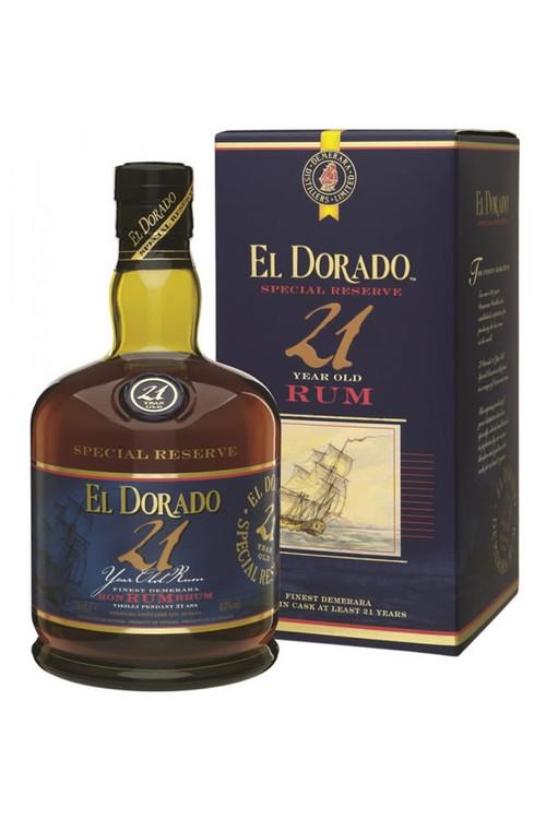 El Dorado Special Reserve 21 Year Demerara Rum