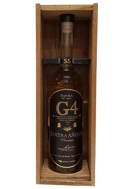 G4 Tequila 55 Meses Extra Anejo
