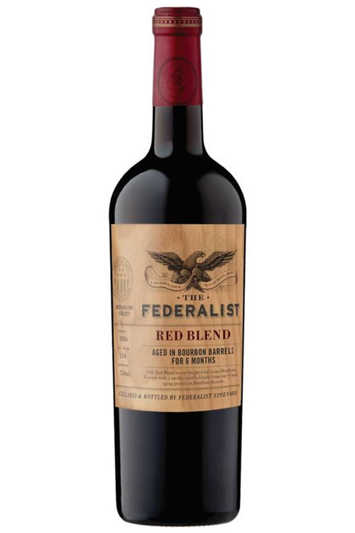 Federalist Red Blend Bourbon Barrel Aged