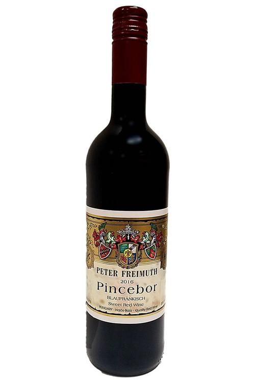 Peter Freimuth Pincebor Blaufrankisch