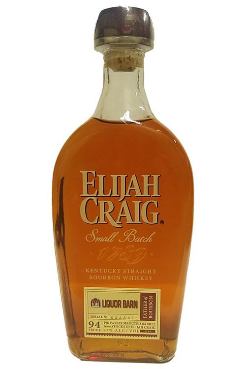 Elijah Craig Liquor Barn Single Barrel