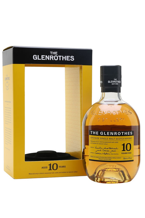 Glenrothes 10 Year Single Malt Scotch