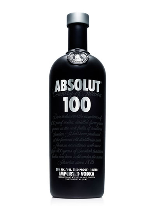 Absolut Black 100 Proof