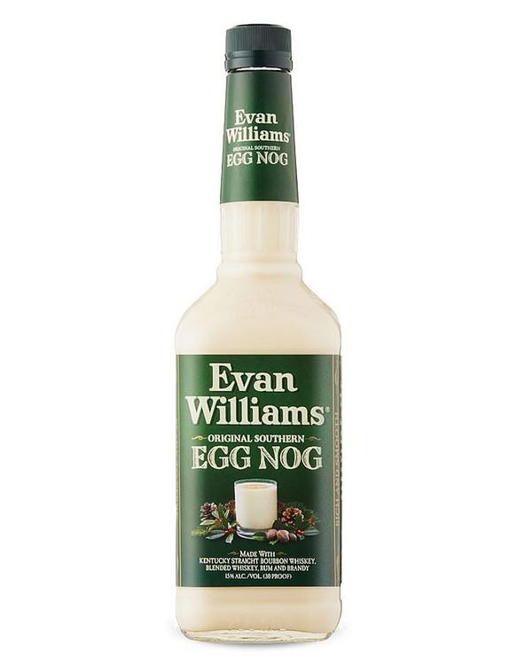 Evan Williams Egg Nog