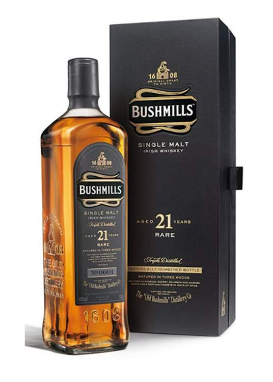Bushmills Single Malt 21 Years Old 750