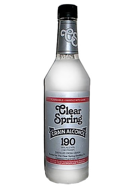 Clear Spring Grain Alcohol