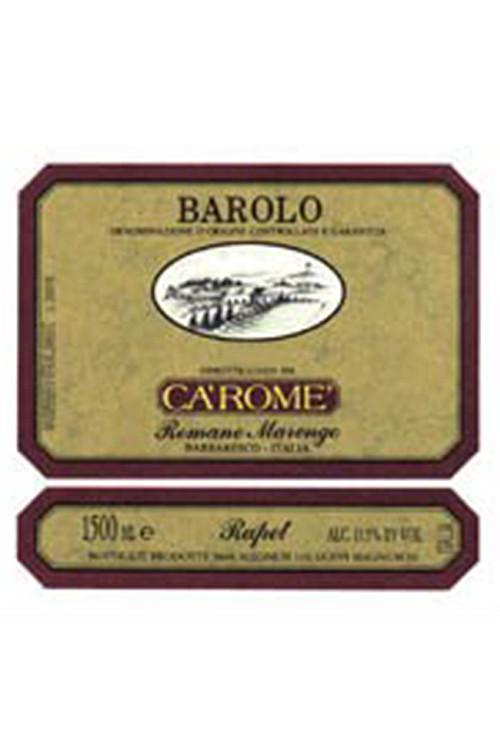 Ca'Rome Di Romano Marengo Barolo Rapet   - 2008