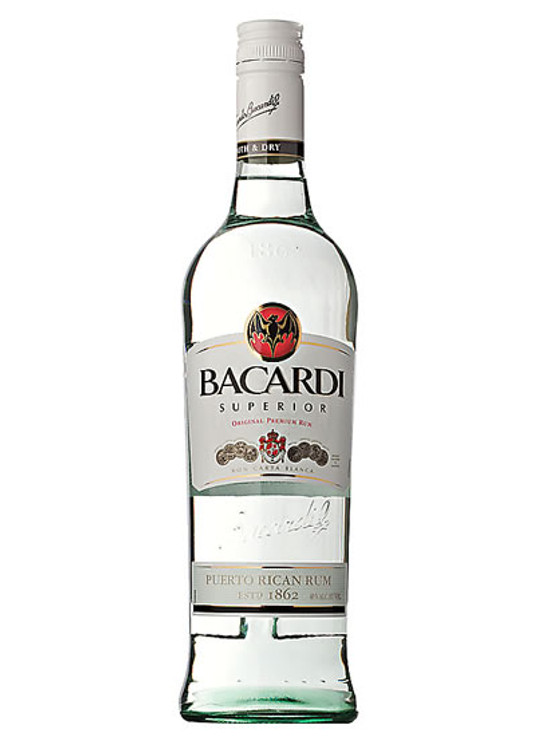 Bacardi Rum Light 750