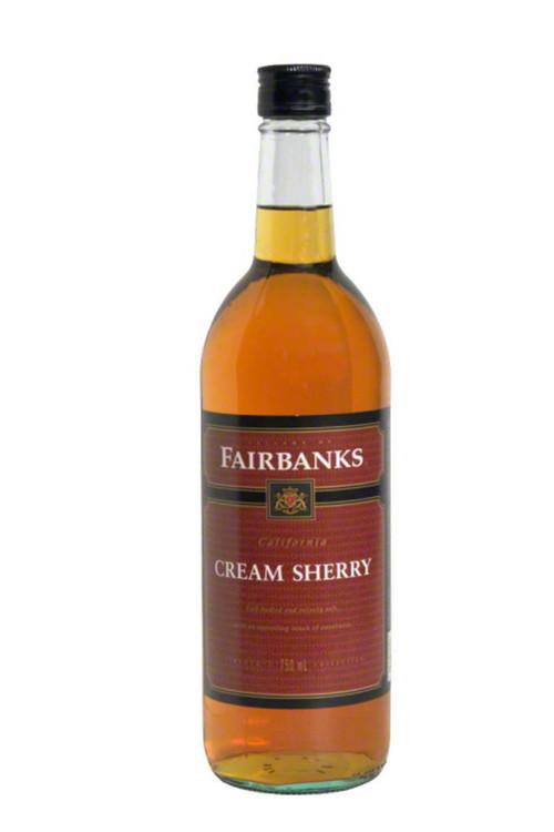 Fairbanks Cream Sherry