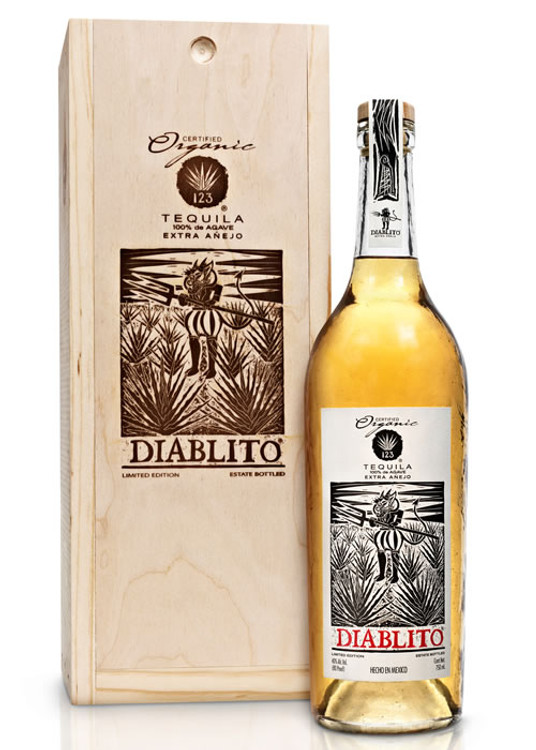 123 Organic Tequila Diablito Extra Anejo