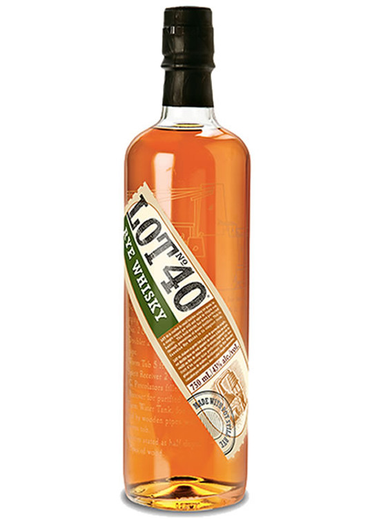 Lot 40 Rye Canadian Whisky