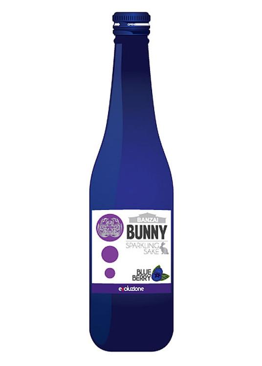 Banzai Bunny Sparkling Blueberry Sake