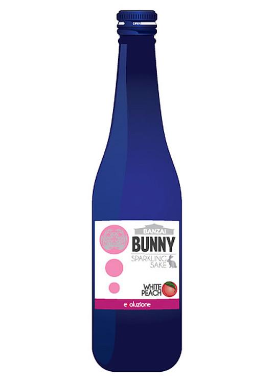 Banzai Bunny Sparkling White Peach Sake