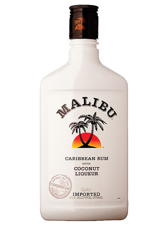 Malibu Coconut Rum 375ml Liquor Barn