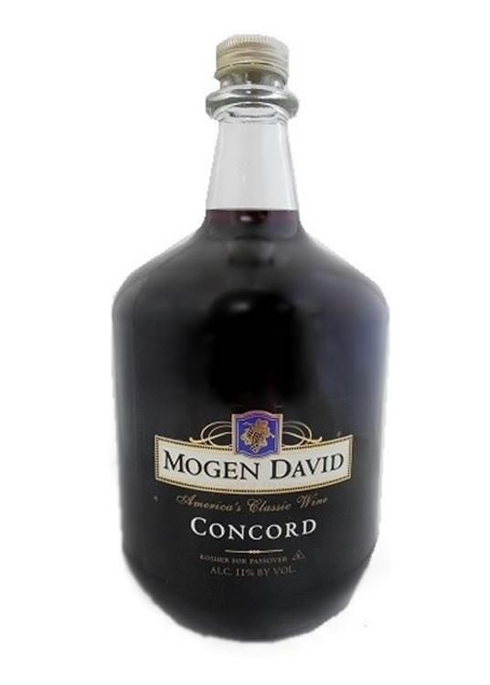Mogen David Concord 3l