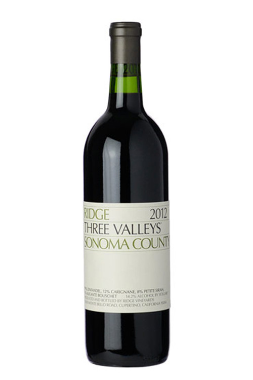 Ridge Vineyards Three Valleys Zinfandel