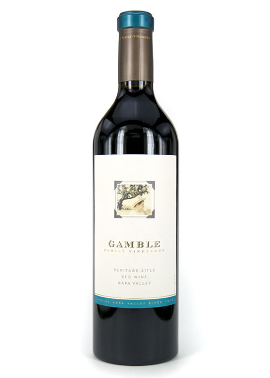 Gamble Family Vineyards Heritage Sites Red