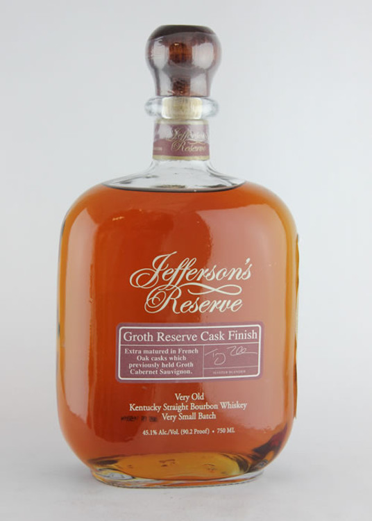 Jeffersons Reserve Groth Reserve Cask Finish