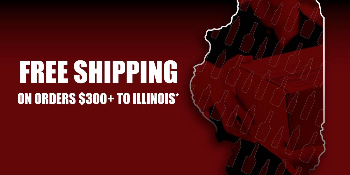Free Shipping to Illinois