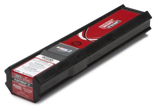 "LINCOLN FLEETWELD 37 (6013) 3/32"" STICK ELECTRODE - 5 LB PKG (ED033501)"