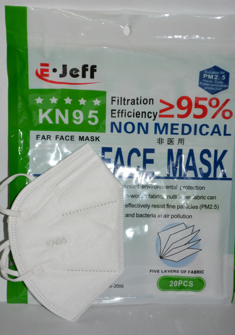 KN95 Mask 20 Pack