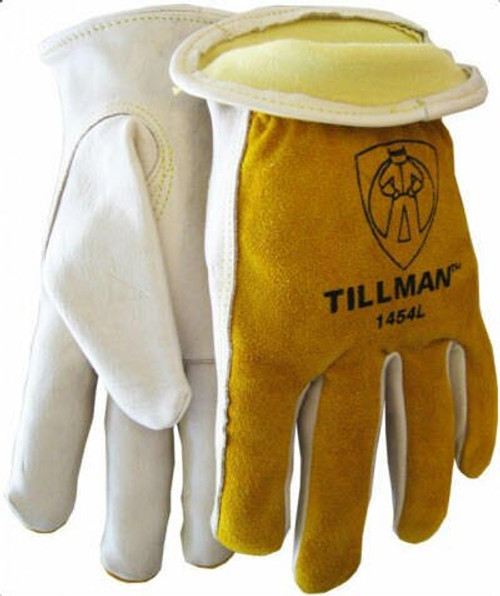 Tillman 1454XL ANSI A2 Cut Resistant Drivers Glove, Cowhide with Kevlar lining, X-Large