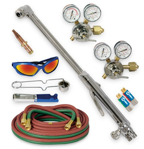 Smith® HBAS-30300, Heavy Duty Hand Cutting Torch Outfit with Acetylene Tip, CGA 300