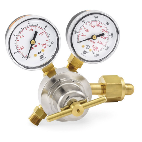 Smith® 30-100-540, MD Oxygen Regulator,  0-100 PSIG