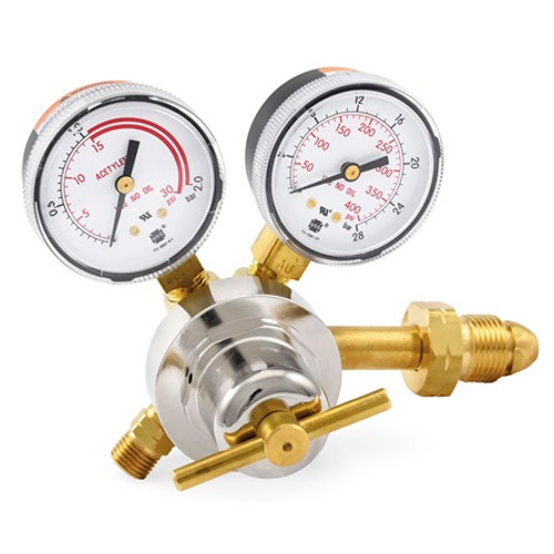 Smith® 30-15-510, MD Acetylene Regulator,  0-15 PSIG