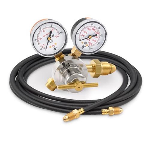 Smith® 31-50-580-6, Flow Gauge Argon Regulator with 6' Hose, 50 SCFH