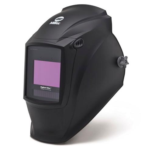 Miller Digital Elite™ Helmet, Auto-Darkening with ClearLight™ Lens, Black (281000)