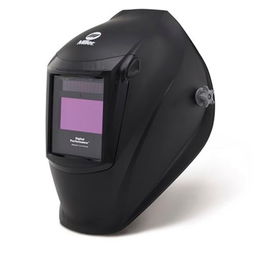 Miller Digital Performance™ Helmet, Auto-Darkening with ClearLight™ Lens, Black (282000)
