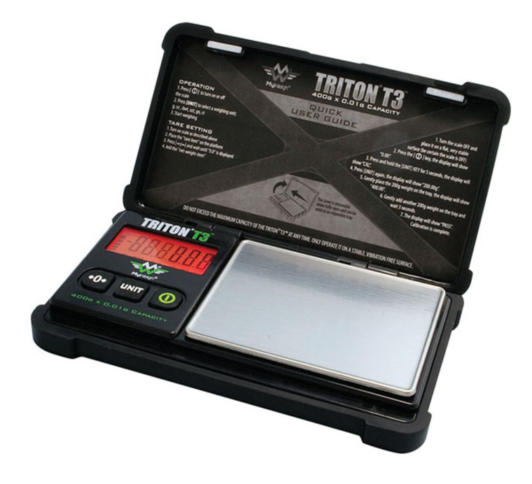 Triton T3 400g x 0.01g Scale By My Weigh