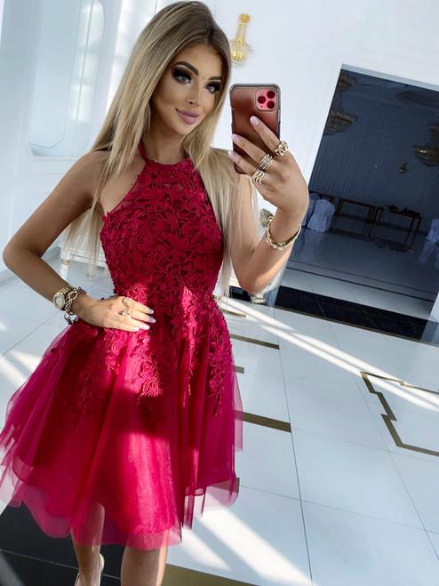 Emma Dress - Berry