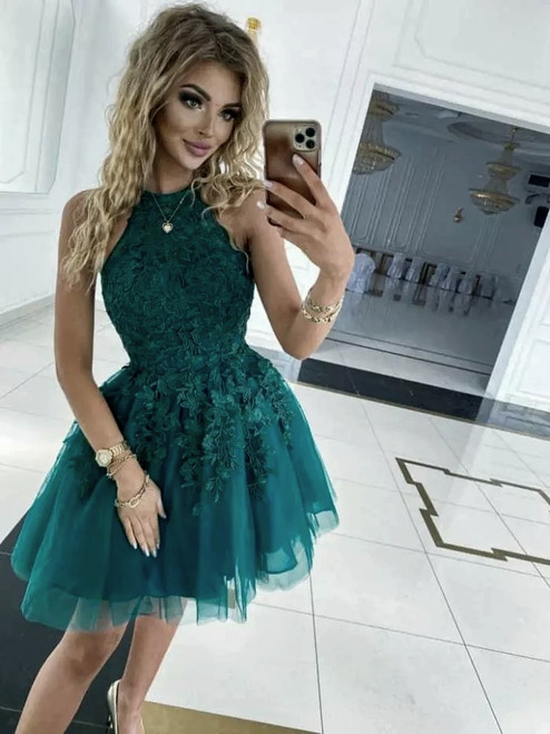 Emma Dress - Green
