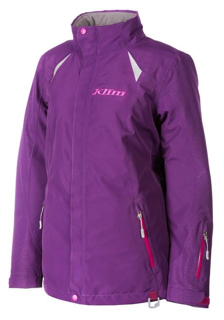 Womens  - Purple - Klim Allure Insulated Outerwear Parka Jacket