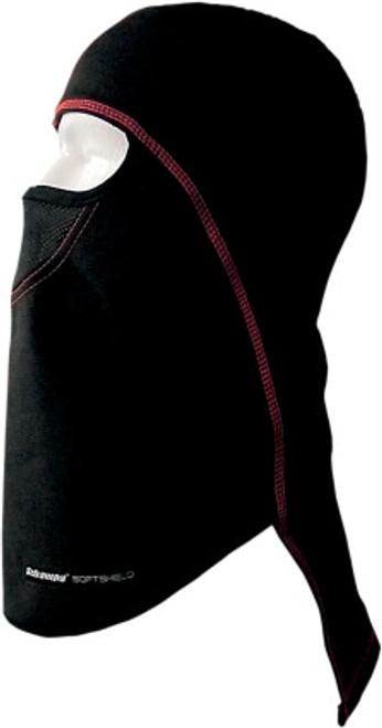 Black/Red - Schampa Chill Breaker Balaclava