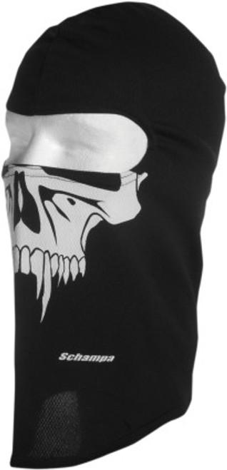 Black/White - Schampa Sabertooth Stretch Balaclava