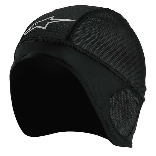 Black - Alpinestars Skull Cap Head Liner