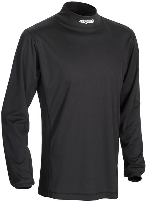 Cortech Journey Coolmax Mock Neck Long Sleeve Base Layer Top