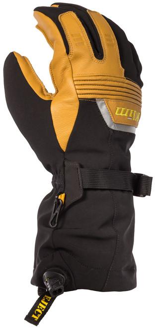 Mens  - Brown/Black - Klim Fusion Gore-Tex Gloves