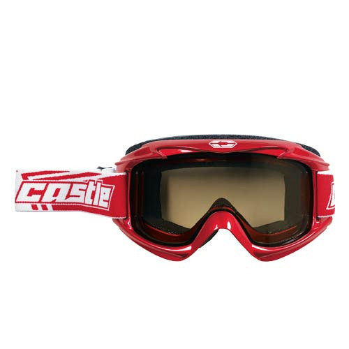 Red - Castle Launch Snow Goggle