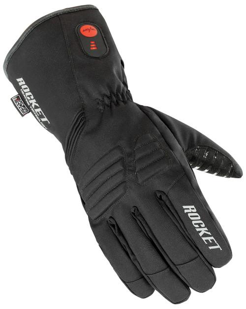 Joe Rocket Rocket Burner Rechargable Battery Heated Waterproof Gloves