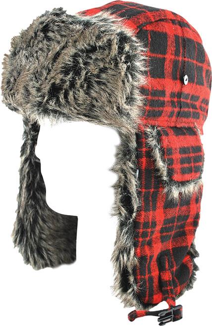Buffalo Plaid - Zan Headgear Trooper Hat