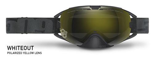 Polarized Yellow Lens - Black Frame - 509 Revolver Whiteout Goggles