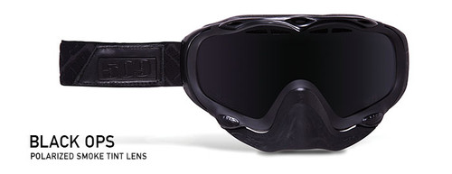 Youth Polarized Smoke Lens - Black Frame - 509 Sinister Goggles