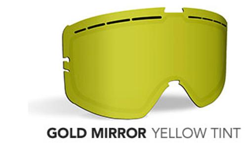 Gold Mirror/Yellow Tint - 509 Kingpin Replacement Lens