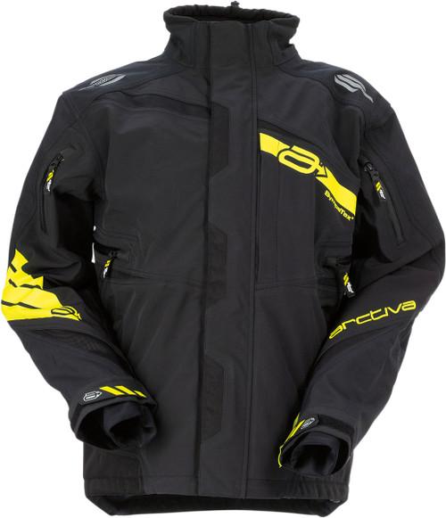 Black/Hi-Vis Yellow - Arctiva Vibe Shell Jacket